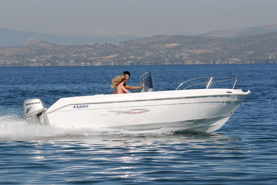 Motor Boat Ahellas 5m